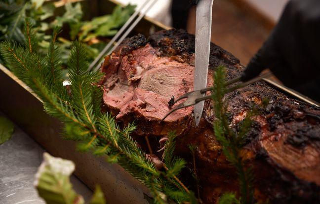 Rôti de sanglier en croûte aux herbes