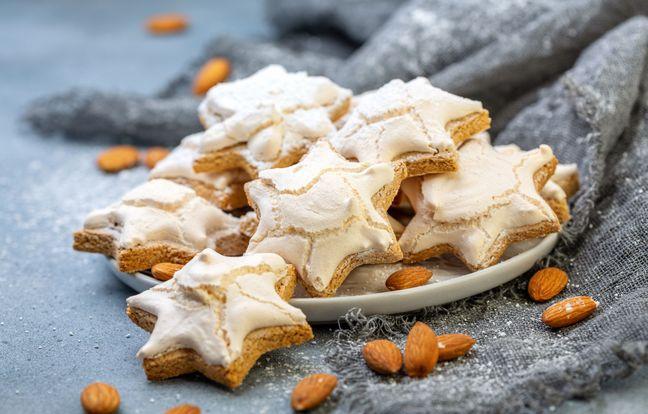 Biscuits meringués cannelle amande