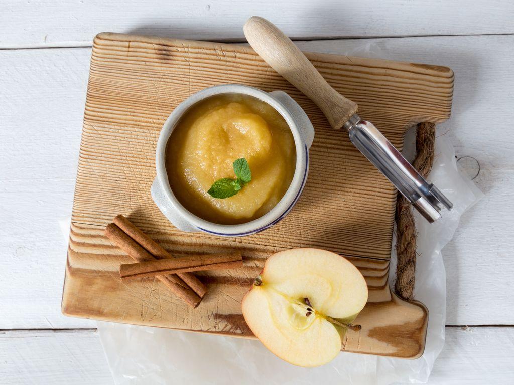 Compote de pommes toute simple au Monsieur Cuisine