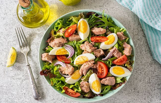 Salade niçoise, l'authentique