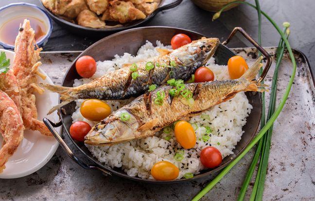 Filets de sardines grillés au barbecue