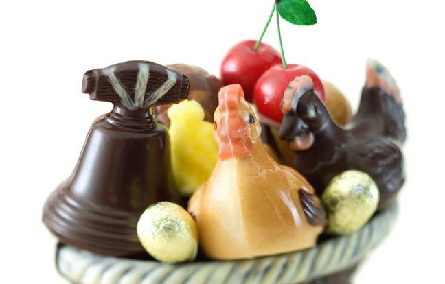 Cloche de Pâques au chocolat