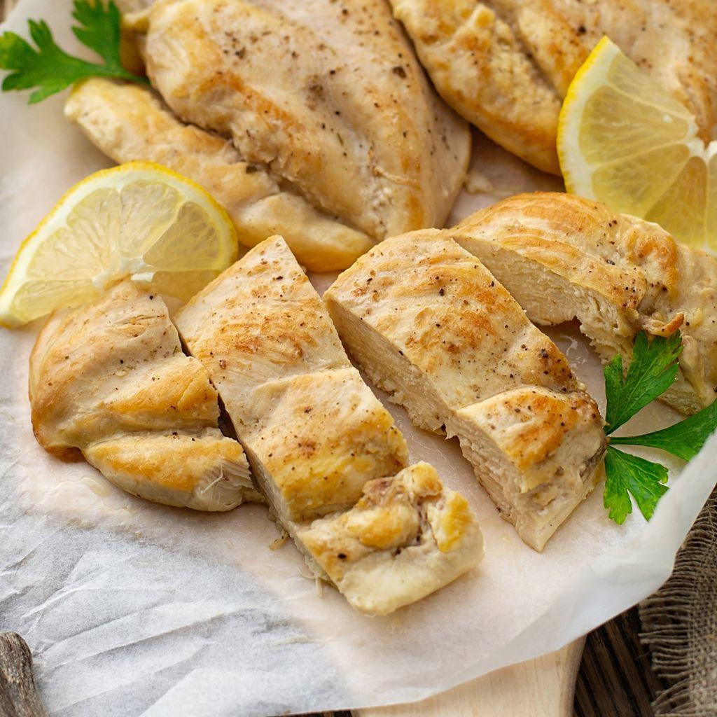 Emincé de poulet au citron facile : Recette de Emincé de poulet au citron  facile - Marmiton