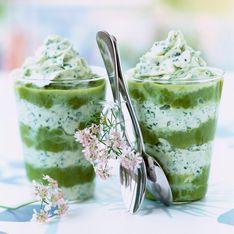 Crème d'asperges en verrines