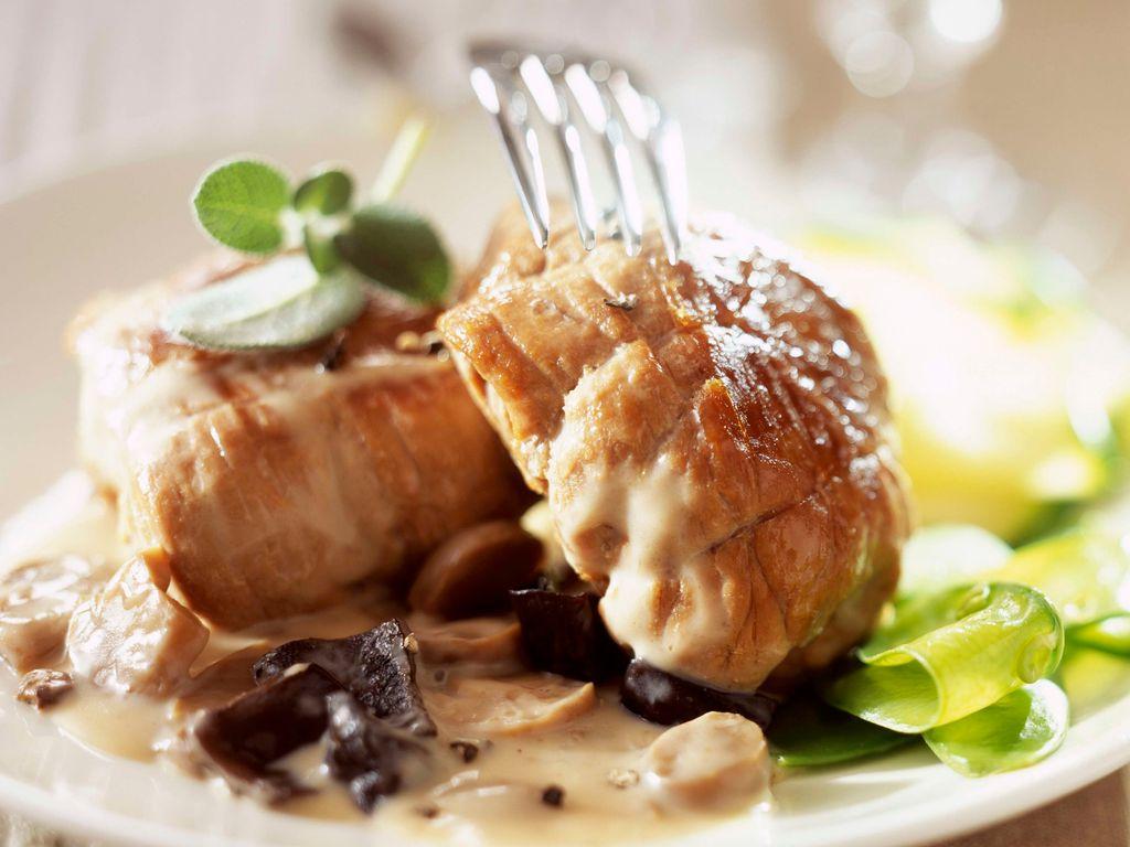 Paupiettes de veau aux champignons : Recette de Paupiettes ...