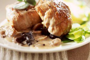 Paupiettes de veau aux champignons : Recette de Paupiettes de veau aux champignons - Marmiton