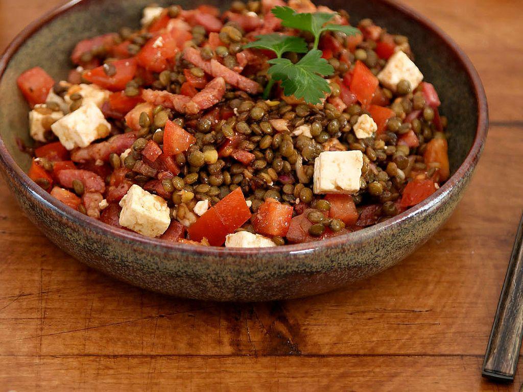Delicieuse Salade De Lentilles Recette De Delicieuse Salade De Lentilles Marmiton