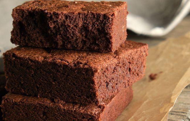 Gâteau fondant façon mousse au chocolat