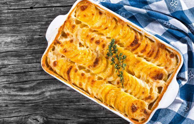 Gratin dauphinois de patate douce