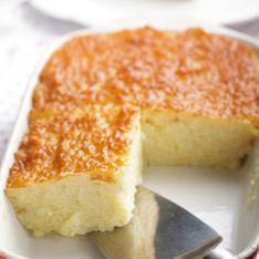 Gâteau de riz à la vanille