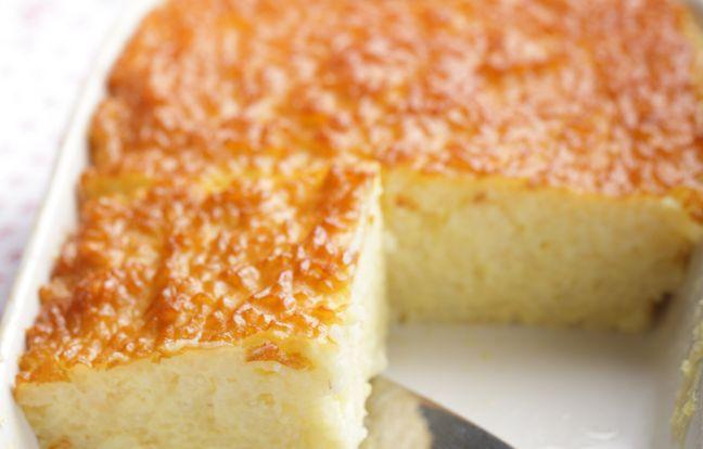 Gâteau de riz, à la vanille