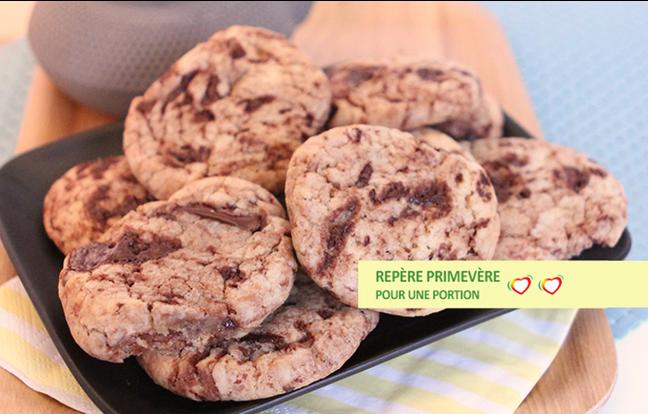 Cookies chocolat anti-cholestérol
