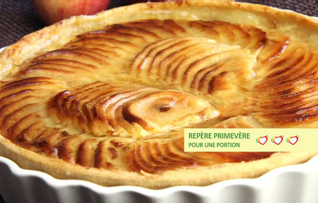 Tarte aux Pommes anti-cholestérol