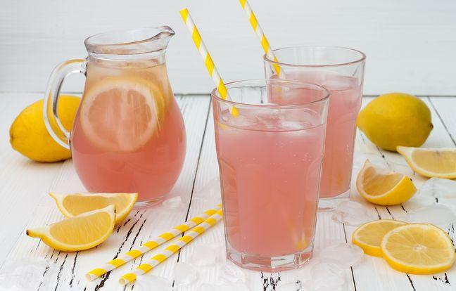 Cranberry limonade givrée