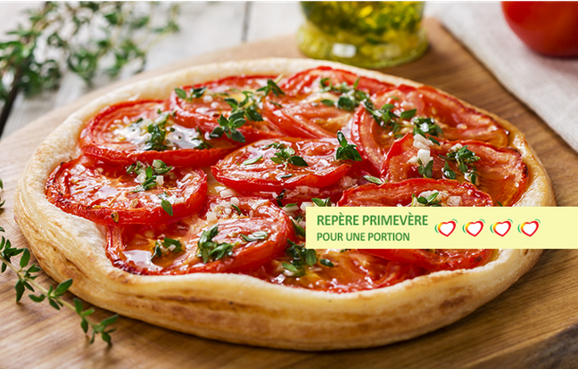 Tarte thon tomates anti-cholestérol