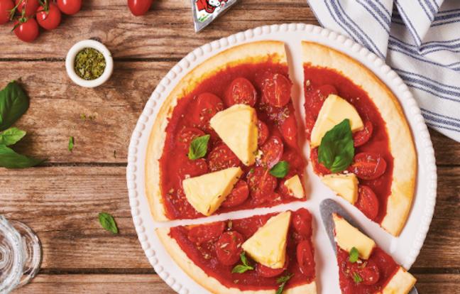 Pizza Fine tomates et La Vache qui rit®