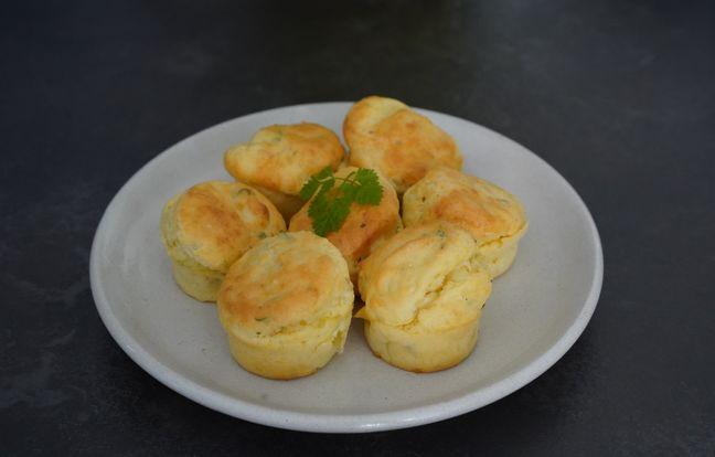 Muffins au fromage frais