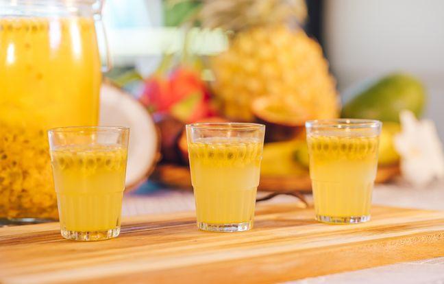 Rhum arrangé ananas passion