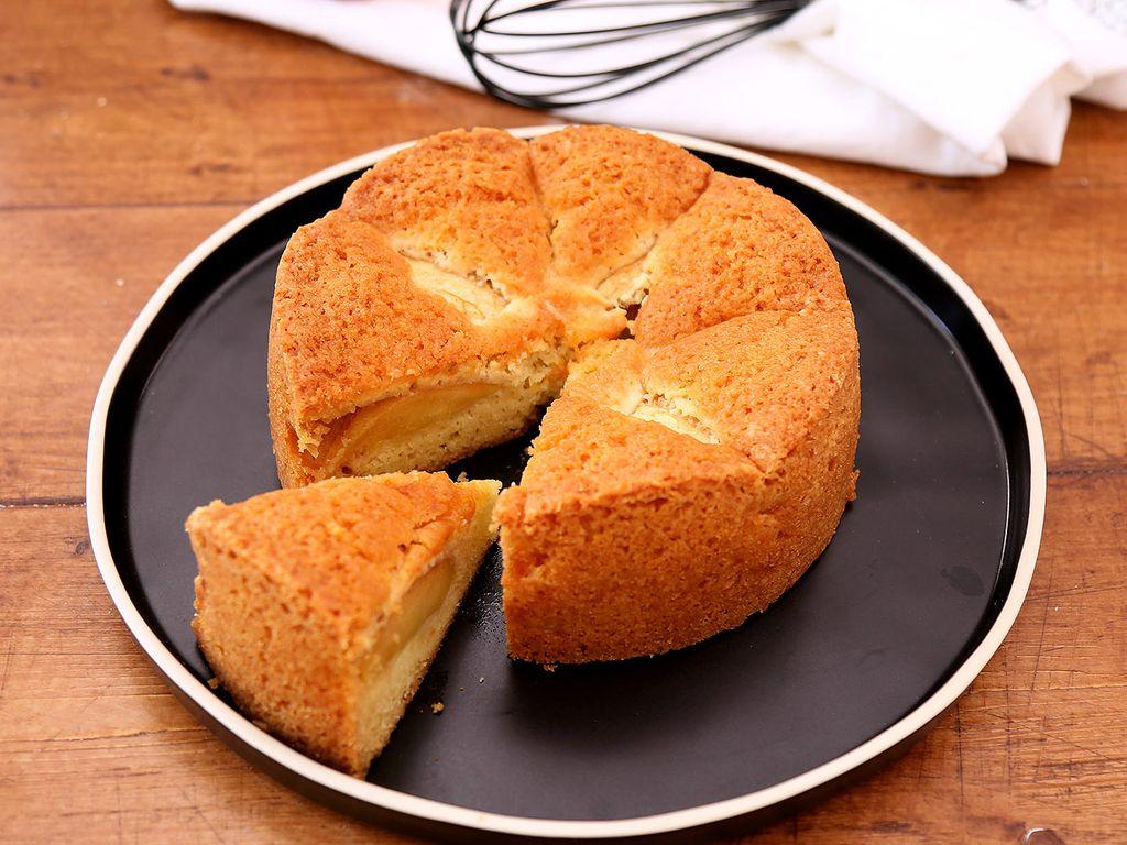 Cake Aux Pommes Recette De Cake Aux Pommes Marmiton