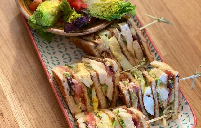 Club sandwich fumé au romarin de Nastasia Thiebaut Lyard