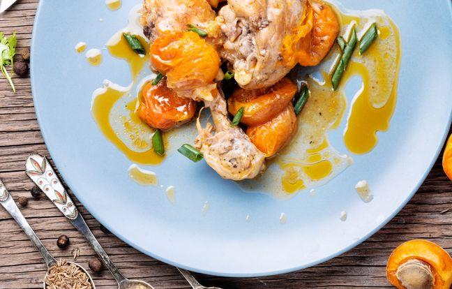 Poulet aux abricots facile
