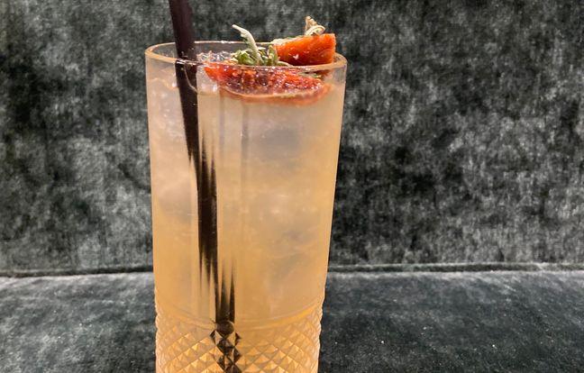 "Cocktail ""South Coast Leaf"""