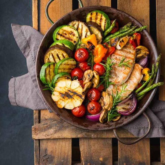 Viandes, poissons, légumes, fromages, tout y passe !