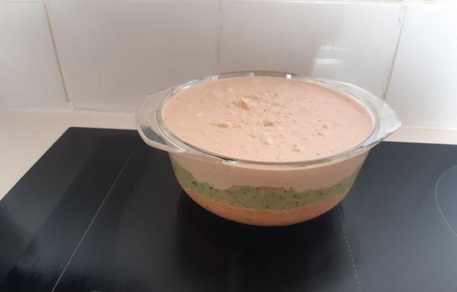 Mousse de légumes au thon