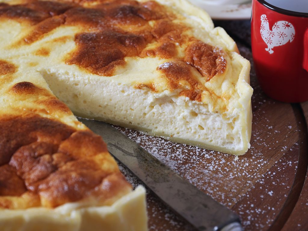 Tarte au fromage blanc de Moselle