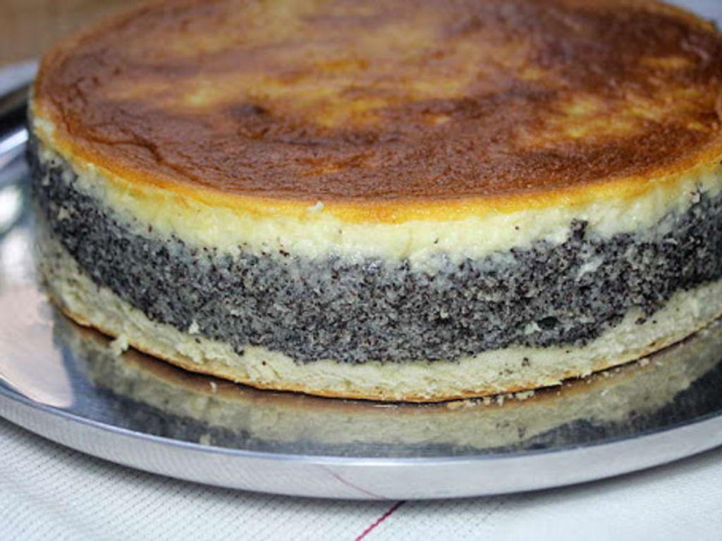 Gâteau au pavot (Mohnkuchen)
