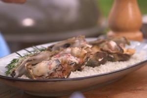 Huîtres à la bordelaise par Laurent Mariotte