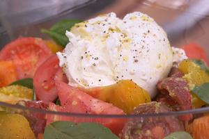 Tomates caprese par Laurent Mariotte