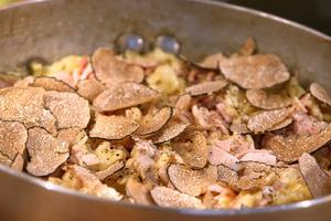 Risotto de coquillettes jambon truffe par Laurent Mariotte