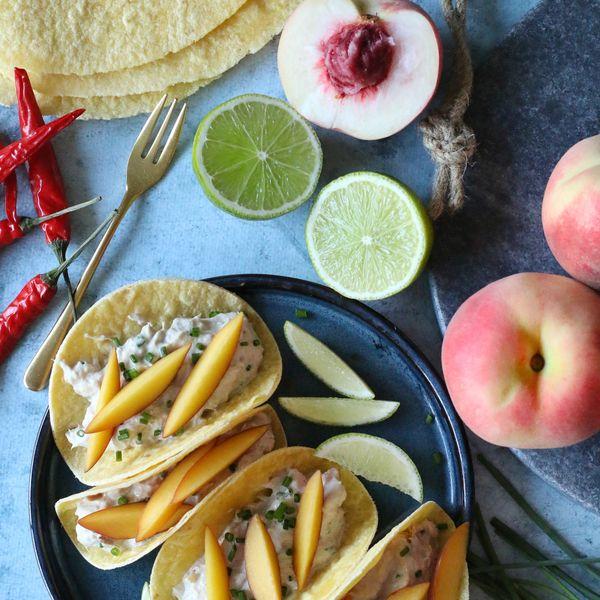 Tortillas moelleuses aux rillettes de thon & St Môret par ChristopheAMAV