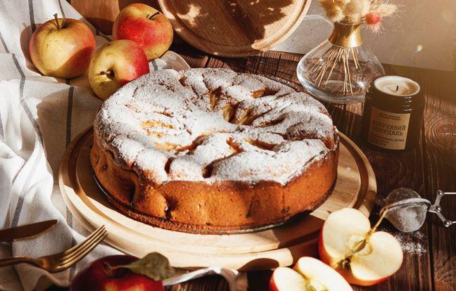 La recette du gâteau aux pommes super facile de ma Mamie