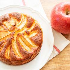 Gâteau de semoule aux pommes