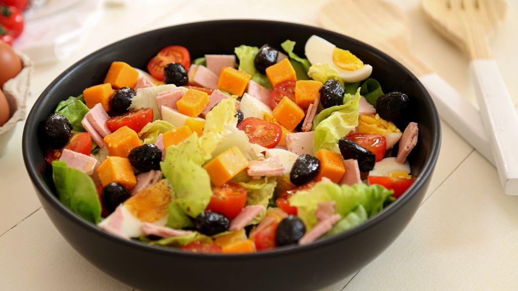 Salade Composee Facile Recette De Salade Composee Facile Marmiton