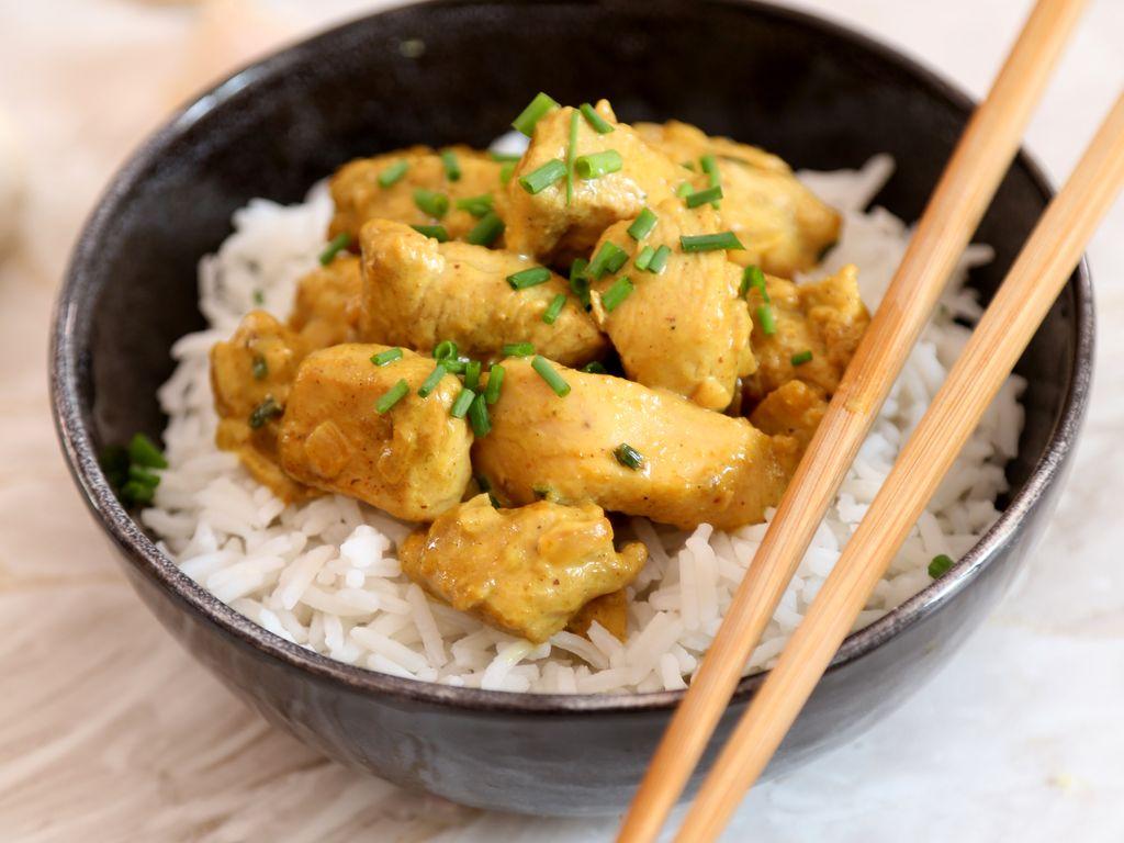Filet de poulet au curry