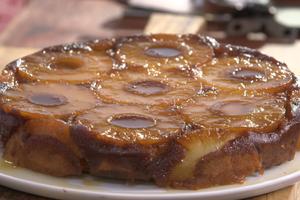 Gâteau à l'ananas de Laurent Mariotte