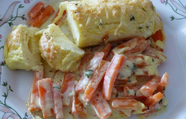 Les quenelles aux carottes de Chloé