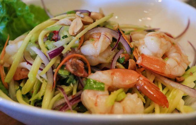 Nouilles chinoises aux légumes et crevettes : la recette