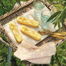 Bûchettes à l'ananas et au rhum