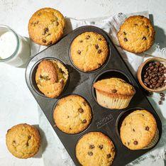 Muffins aux pépites de chocolat par Made in Clem's