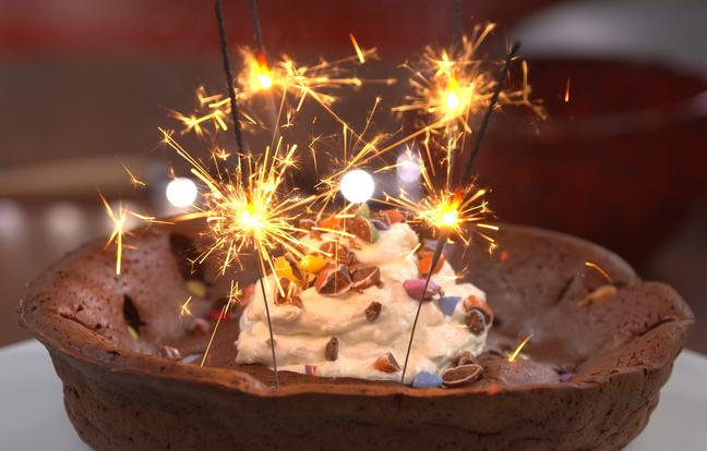 Gâteau au chocolat par Laurent Mariotte