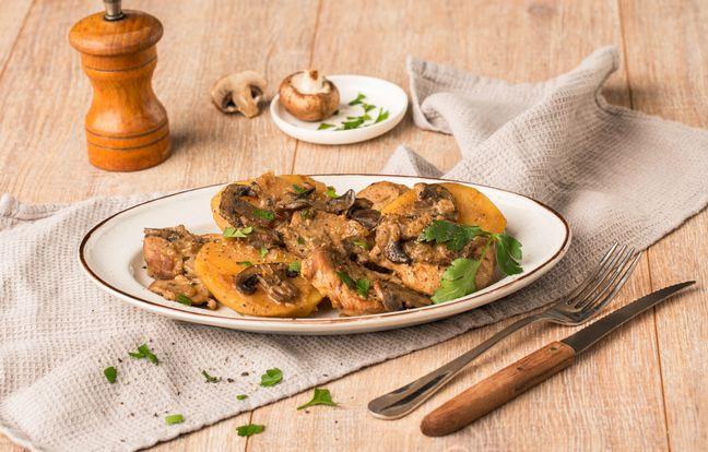 Filet mignon pommes de terre au Cookeo