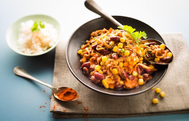 Chili con carne au Cookeo