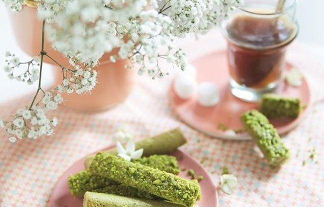Fingers moelleux thé matcha et pistache