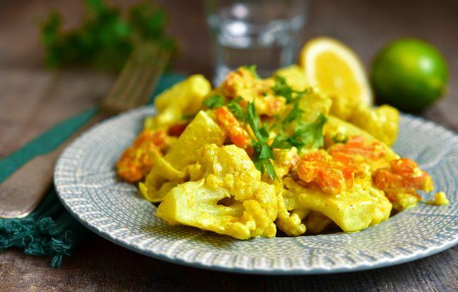 Curry de chou-fleur