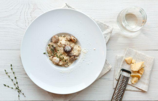 Risotto ai funghi porcini (risotto aux cèpes)
