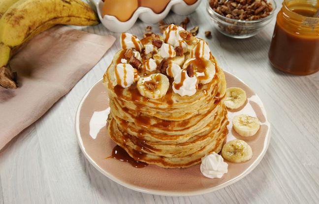 Pancakes Banofee